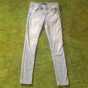 Light colored jeans lightly used